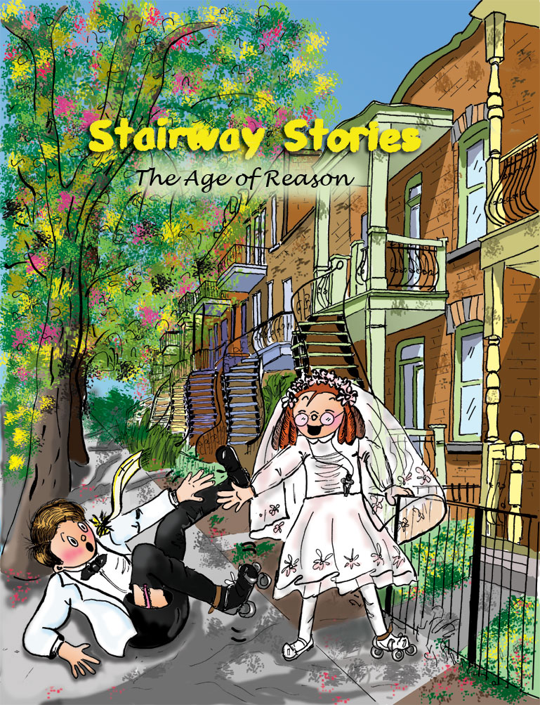 This is the third comic book in the Stairway Stories series: The Age of Reason by Danièle Archambault
