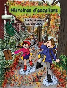 Histoires d'escaliers. Sur le chemin des écoliers.