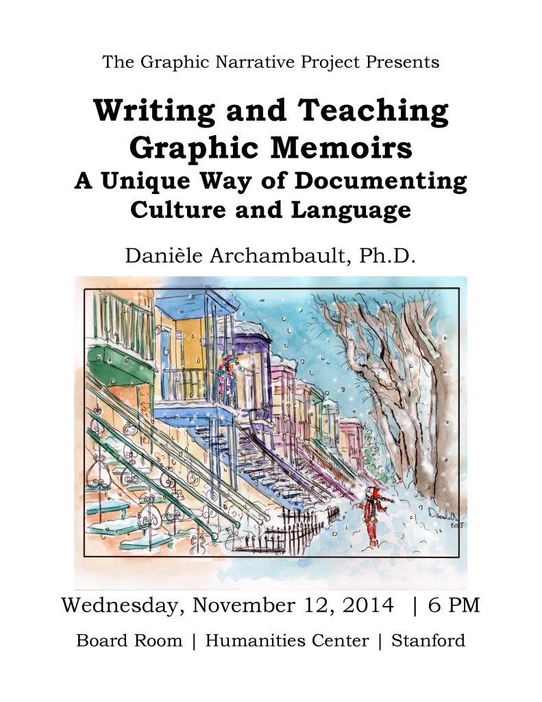 Writing and Teaching Graphic Memoirs. Danièle Archambault