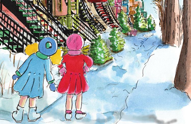 Histoires d'escaliers. Marion et Louise
