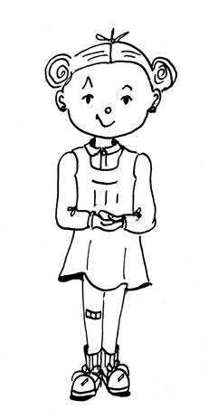 Miche, nouveau personnage de la série de BD Histories d'escaliers. Danièle Archambault