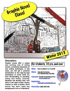Graphic Novel Class by Danièle Archambault