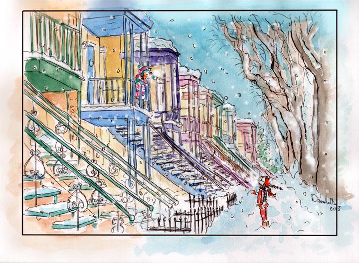 Histoires d'escaliers. Stairway Stories. Doudou, Louise.
