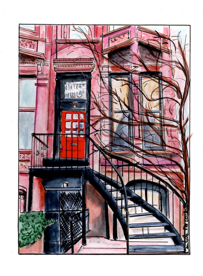 Escalier de New York.! New York Stairway! Danièle Archambault