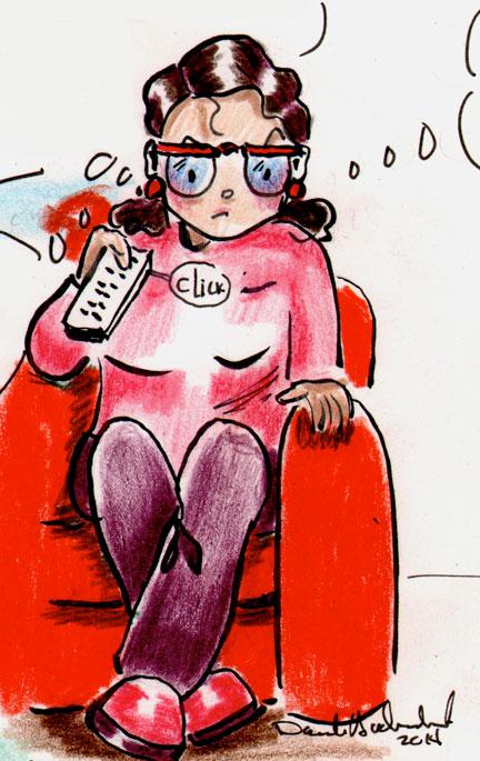 Catherine et les résolutions des autres. Un webcomic hebdomadaire.