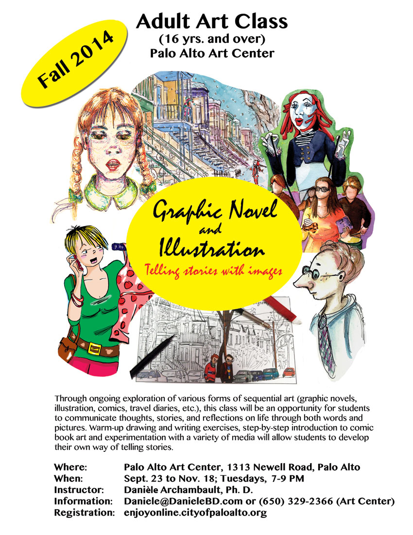 Fall Graphic Novel and Illustration Class