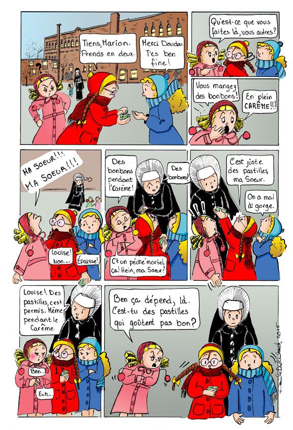 Historie de Carême par Danièle Archambault